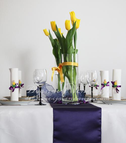 dekoracija-stola-zute-lale2