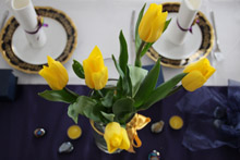 dekoracija stola u martu