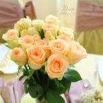 Avgust u boji lavande & ružini pupoljci za romantično venčanje pred zalazak leta..