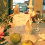 kartice za goste pokloncici sa jabukama