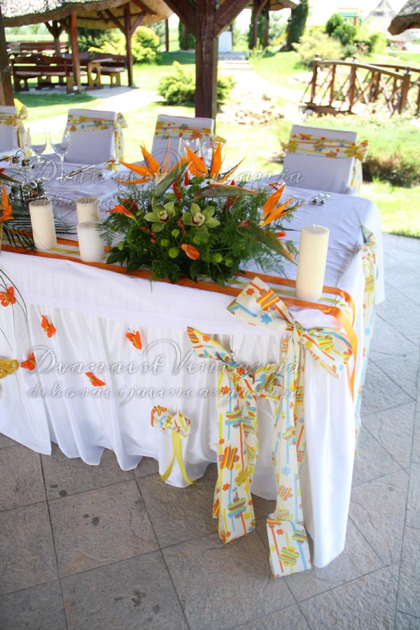 dekoracija mladenackog stola prolece