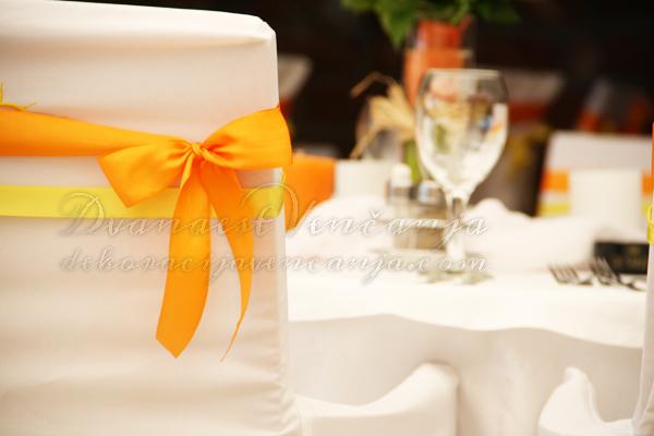 narandzaste i zute masne za stolice