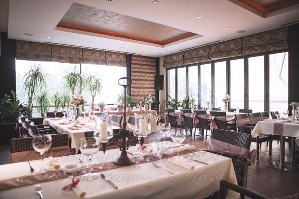 dekoracija restorana Novak