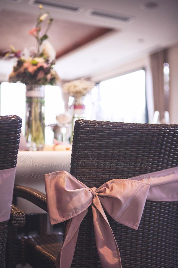 dekoracija stolica lavanda masne
