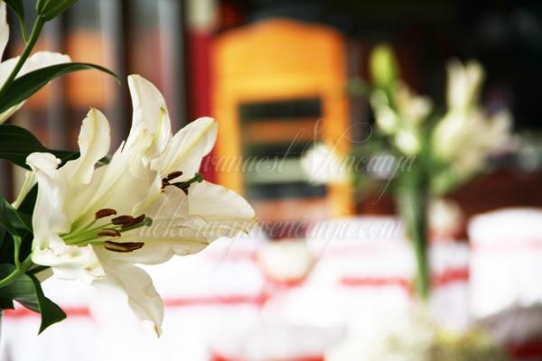 cvetna dekoracija ljljan orijental