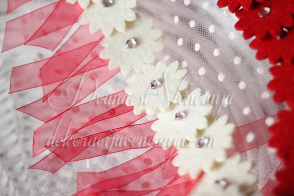cvetici za rever crveni i beli