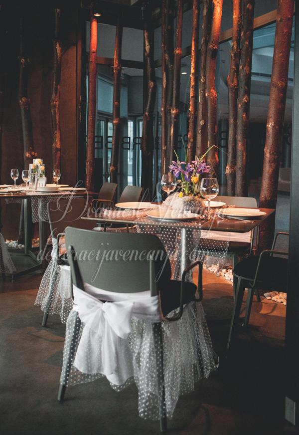 dekoracija stola restoran biber