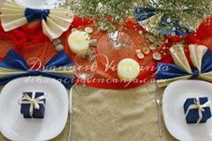 dekoracija-stola-mreza-i-skoljke