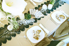 dekoracija-stola-zeleno